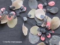 1 Halsketting Herfst met bes - detail