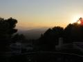 Een van de 6 zonsondergangen