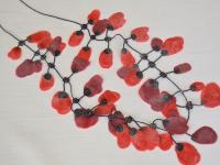 5 Halsketting Rode Tulp x